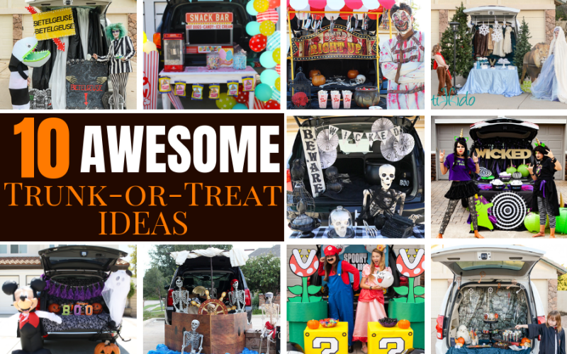 10 awesome trunk or treat ideas