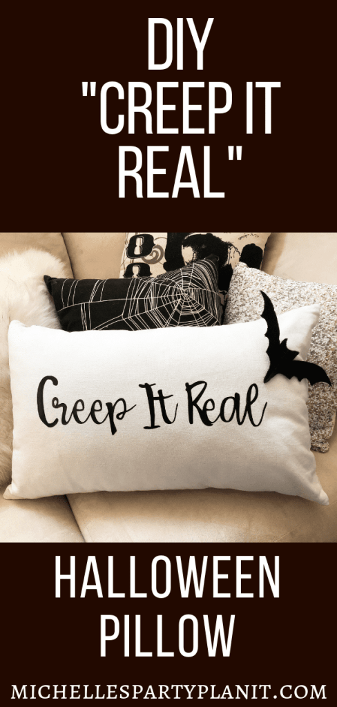 Creep it Real Halloween Pillow