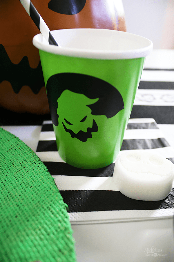 Oogie Boogie Party Cups