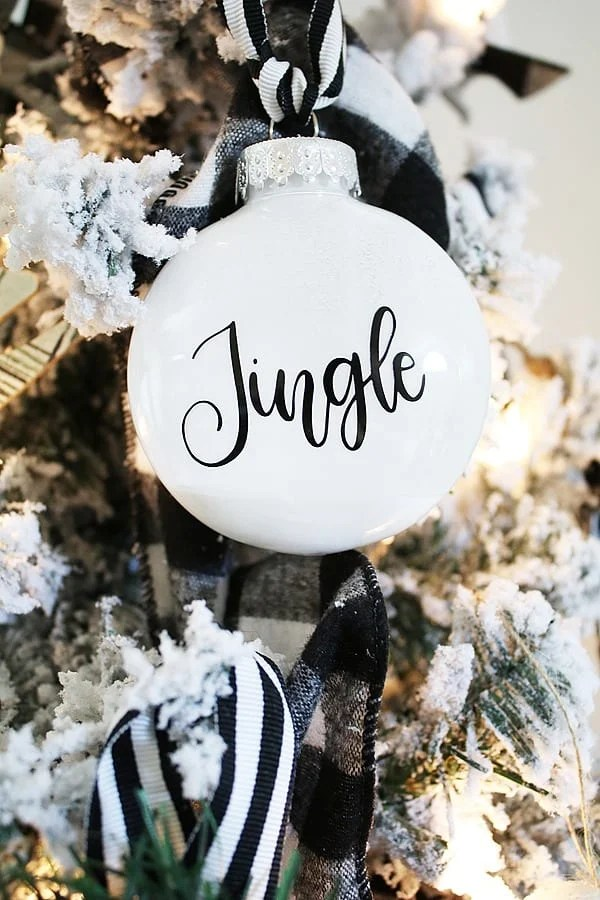 DIY Christmas Ornaments - Jingle