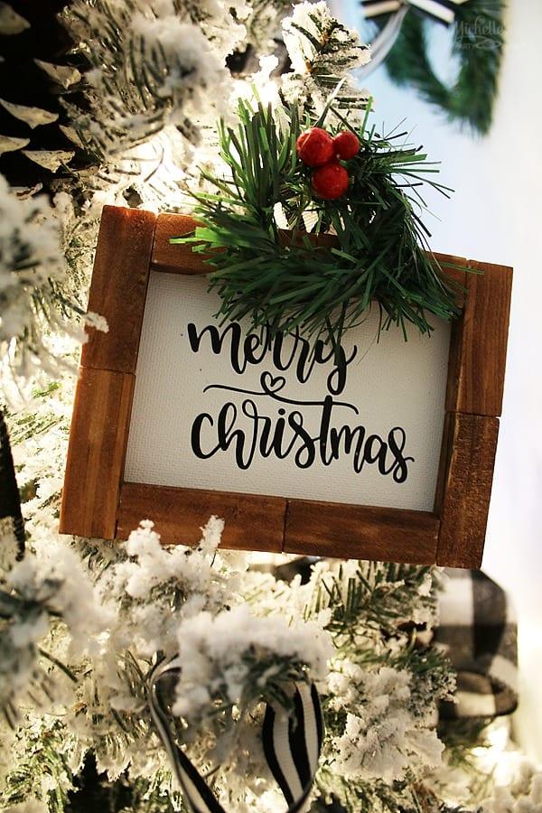 Merry Christmas - DIY Ornament
