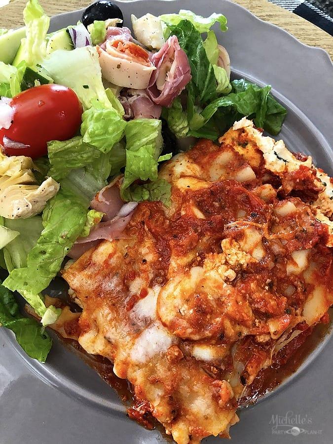 Michael angelos lasagna