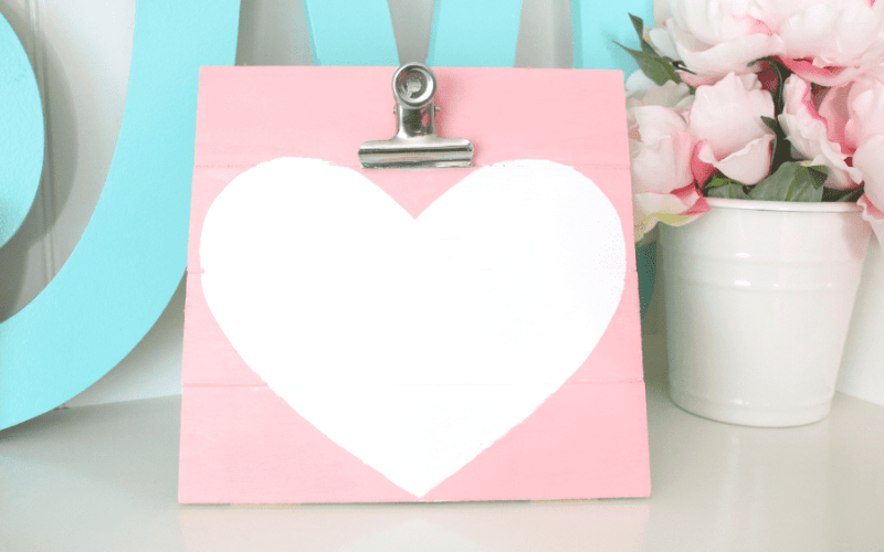 DIY Love Note Holder – $1 Craft Idea
