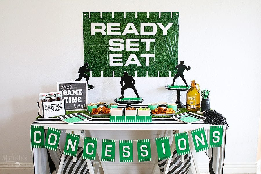 Sunday football party ideas 11