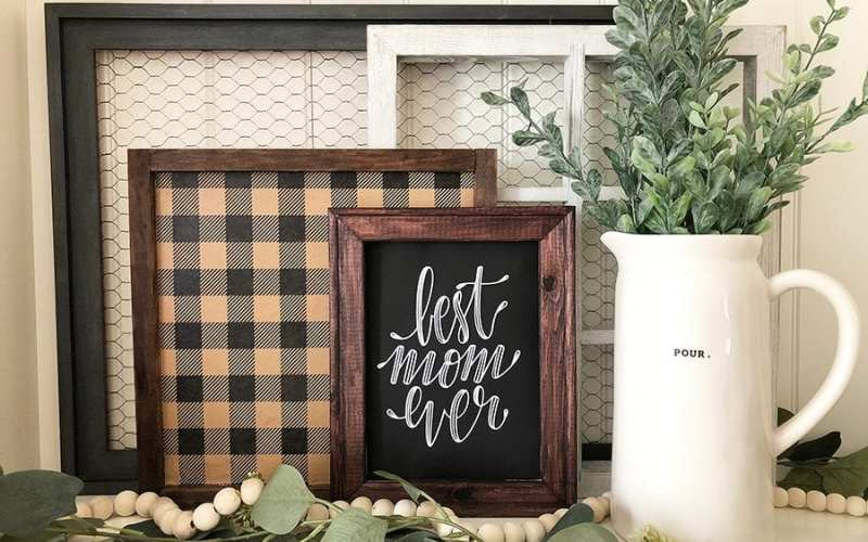 Easy Farmhouse Art in less than 15 Minutes