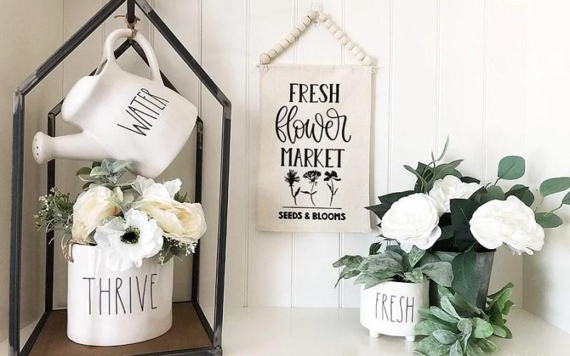 Diy flower market banner 7