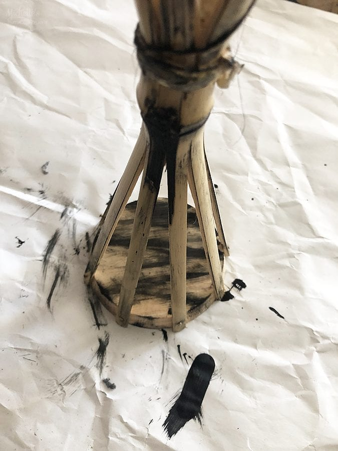 Diy skull tiki torches 2