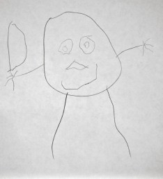 Maya's self portrait