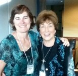 writer Michelle Ule and Margaret Brownley