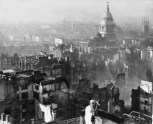 London Blitz, Oswald Chambers, book burning,My Utmost for His Highest, WWII, St. Paul's Cathedral, British publishing WWII, Nazis