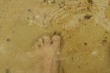 toes in the gulf of thailand
