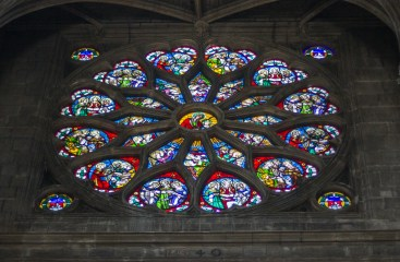 one more thing the french kick our asses at- stained glass