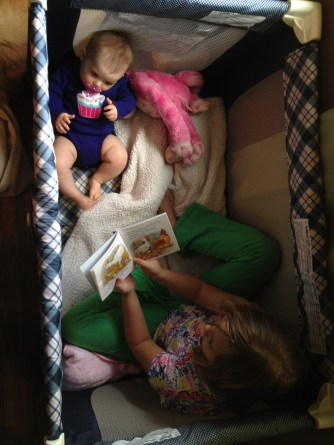 Belle Reading to Ava