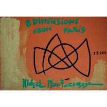 Box-Set, '8 Dimensions' Series Of Drawings From Paris, Cover Painting #6