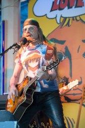 Michel Montecrossa at the Spirit of Woodstock Festival in Mirapuri, Italy