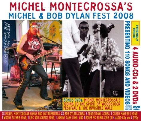 CD-Box Set - Michel Montecrossa's Michel & Bob Dylan Fest 2008