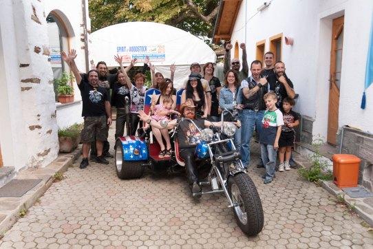 Michel Montecrossa, Children, Fans and his band The Chosen Few