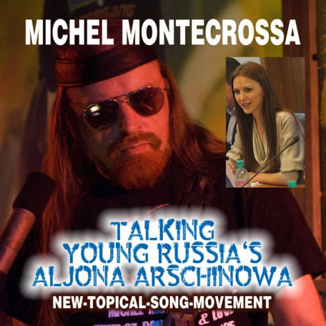 Michel Montecrossa's Single - Talking Young Russia's Aljona Arschinowa / Алена Аршинова