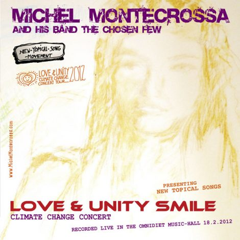 CD Cover: Michel Montecrossa's 'Love & Unity Smile Concert'