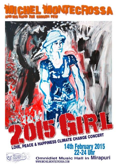 Michel Montecrossa's 2015 'Girl Concert'