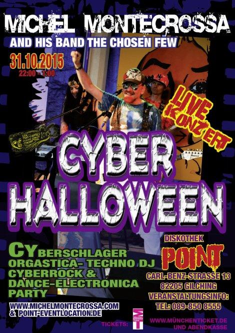 Michel Montecrossa's 'Cyberhalloween Concert'