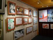 CREATION ART EXHIBITION of Michel Montecrossa paintings and drawings; preparations - picture 8