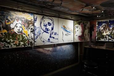 Photo show of the Michel Montecrossa 'CREATION' Art Exhibition, 5