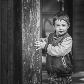 Portrait enfant sur le vif