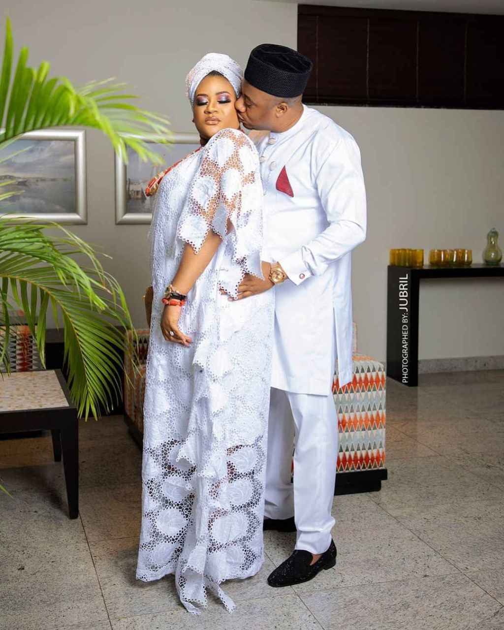 Nnkechi blessing and her husband