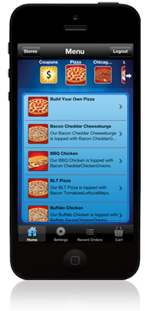 Uncle Andy's Pizza Detroit Mobile App