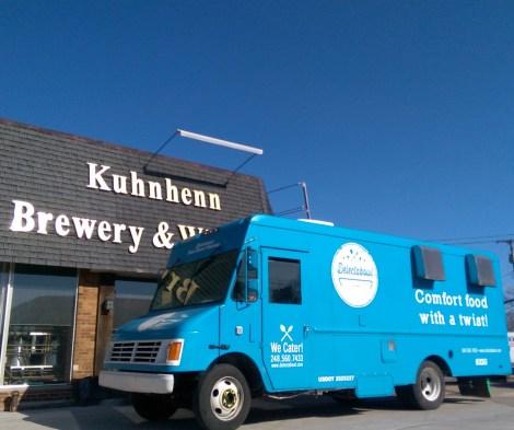 Kuhnhenn Brewery Delectabowl food truck Detroit Michigan