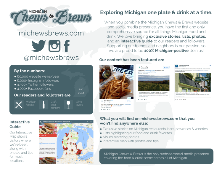 Michigan Chews & Brews