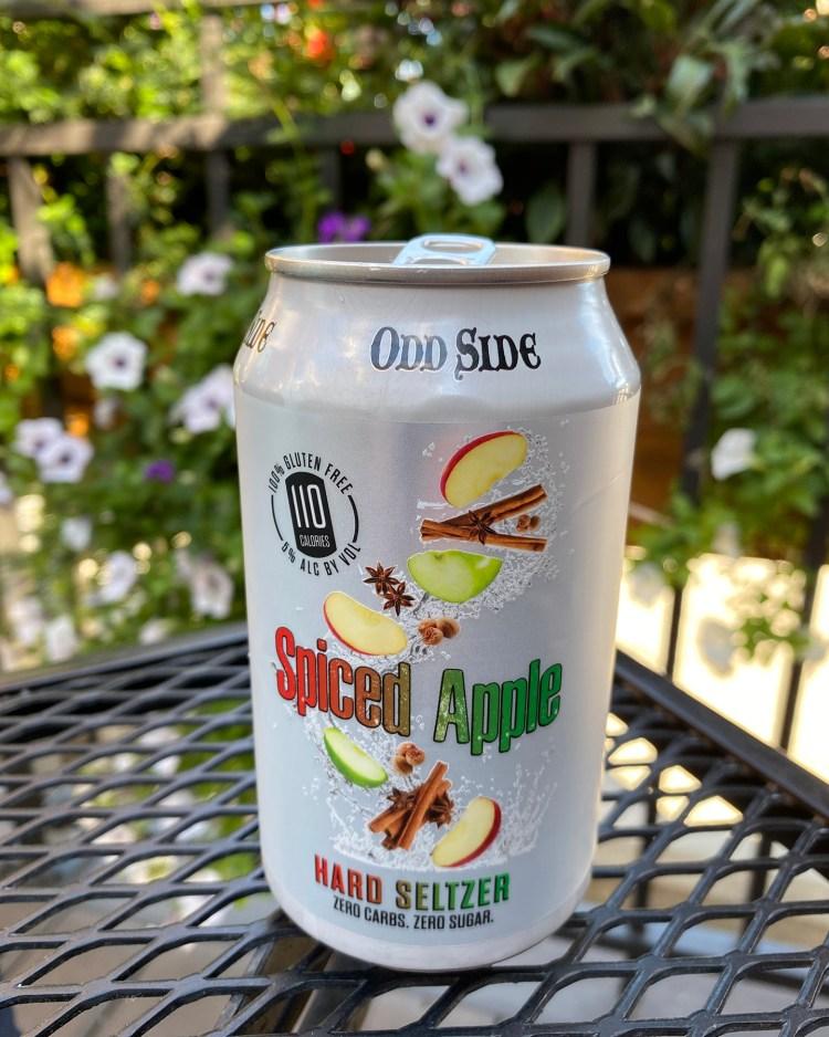 Odd Side Spiced Apple Hard Seltzer