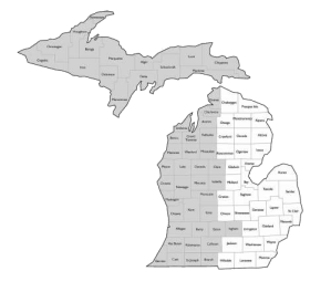 USGBC West Michigan Regional Map