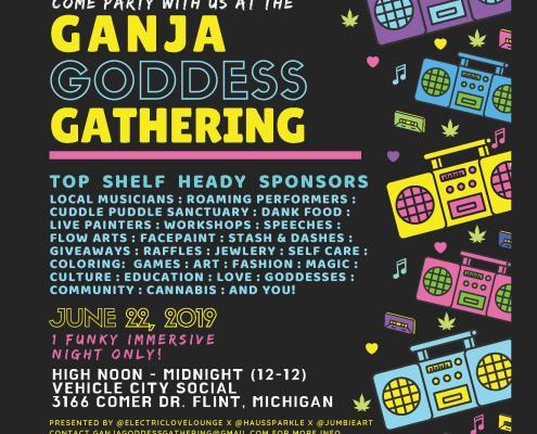 Ganja Goddess Gathering at Vehicle City Social