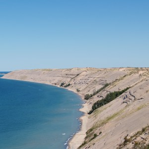 Grand Sable Dunes in the Pictured Rocks National Lakeshore