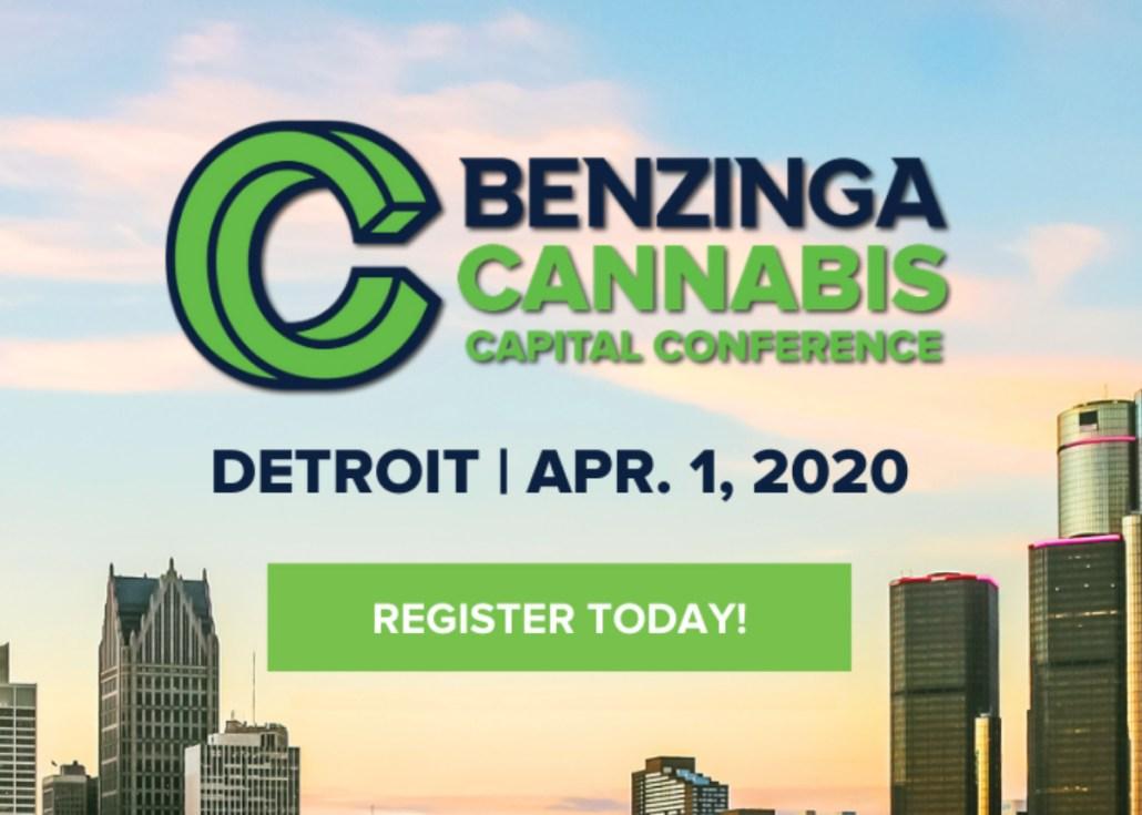 Benzinga Cannabis Capital Conference Detroit