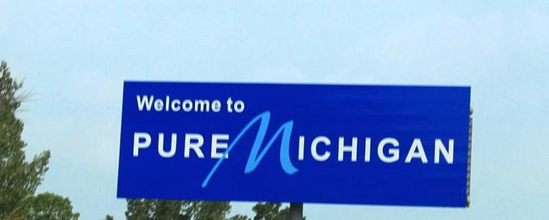 Pure Michigan Sign