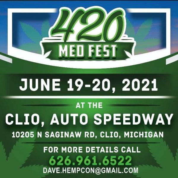 420 Med Fest Clio Speedway