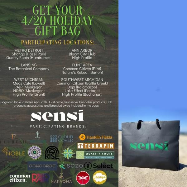 Sensi 420 Gift Bag