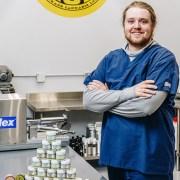 Vince Volovlek of Michigan Organic Rub