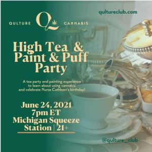 High Tea Puff & Paint Party