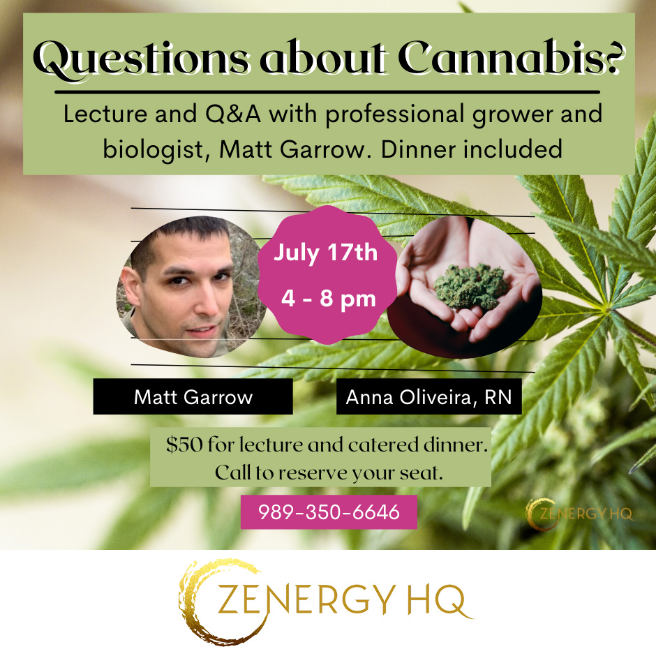 Questions about Cannabis