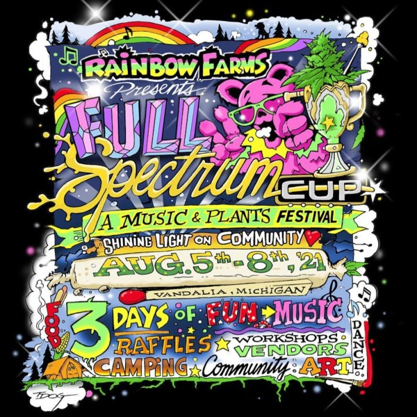 Rainbow Farms Full Spectrum Cup