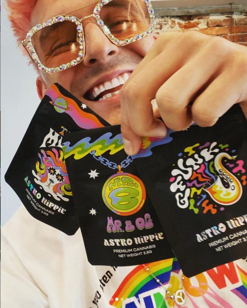 GRiZ with Astro Hippie Cannabis