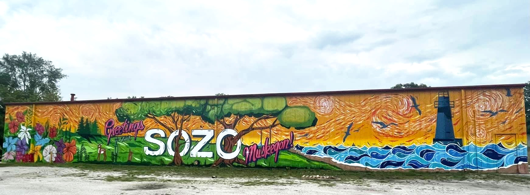 Sozo Cannabis Mural by Muskegon City Government