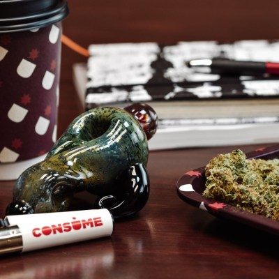 Consume Cannabis Pipe & Weed