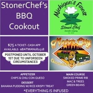 Stoner Chef's BBQ Cookout Detroit