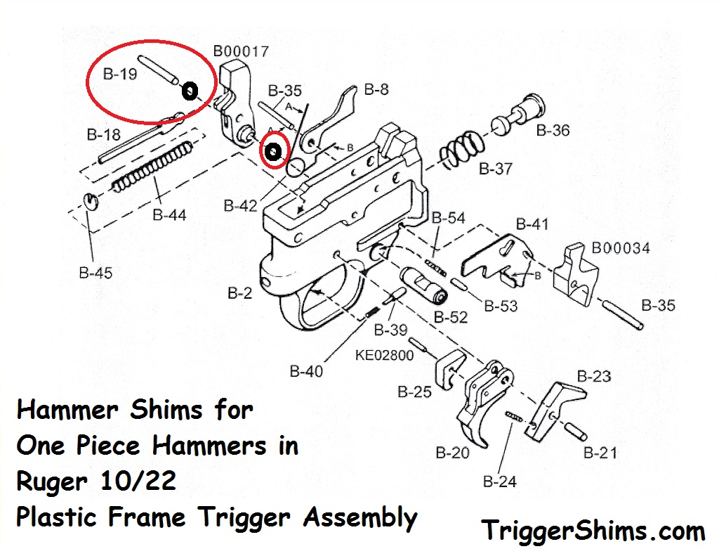 Ruger 10 22 Trigger Shim Kit Installation