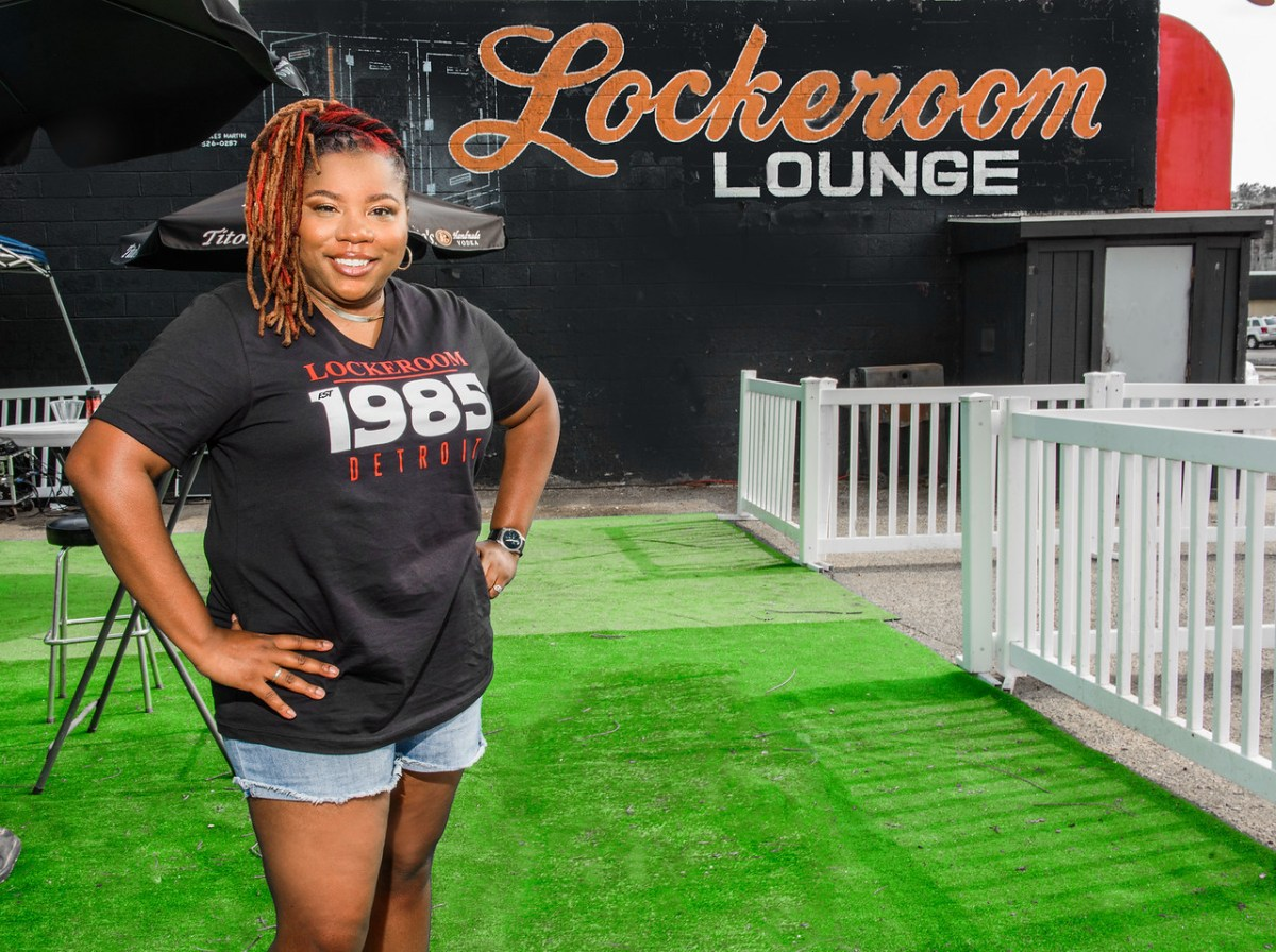 MICHIGAN CHRONICLE: Longtime Resident Brings New Life To Popular Locker Room Lounge | The Michigan Chronicle